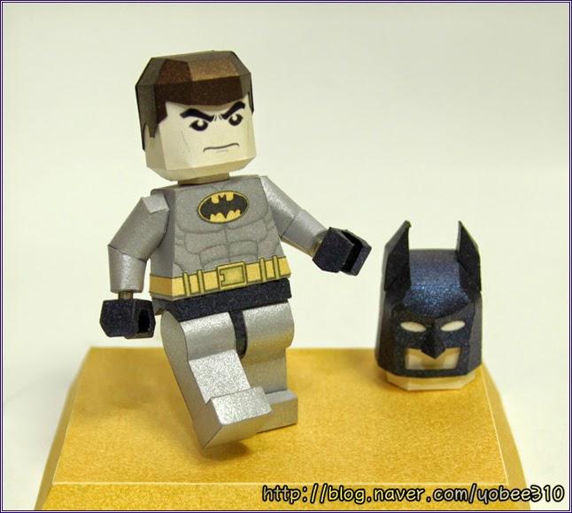Lego Batman Papercraft - Classic
