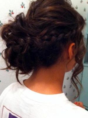 peinados con trenzas faciles