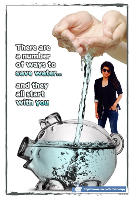 Kricpy Khera- Save Water
