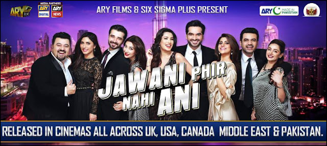 Jawani Phir Nahi Ani Sets Box office Record in Pakistan.
