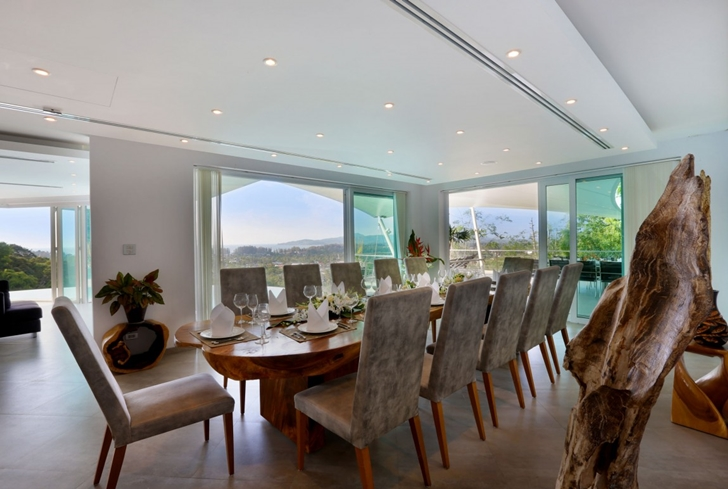 Dining room in Modern Villa Beyond in Phuket