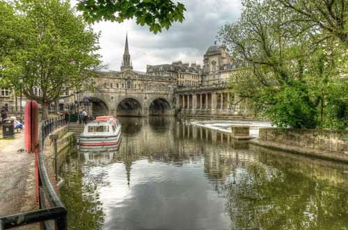 Pulteney Bridge Bath, UK