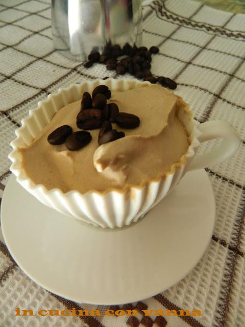 gelato al caffè ( senza gelatiera)