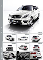 2011 Mercedes M-class ML63 AMG Official Press Image Photo Picture unveiled not mule