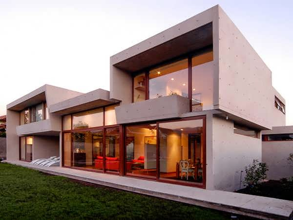 TOP 7 UNIQUE HOUSE DESIGN: SANTIAGO FLEISCHMANN-OSSA HOUSE DESIGN IS A MODERN DESIGN THAT'S UNIQUE FOR YOUNG FAMILY