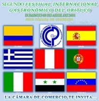 PORTAL DEL SEGUNDO FESTIVAL INTERNACIONAL GASTRONÓMICO DEL ORITUCO