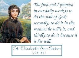FEAST OF ELIZABETH ANN SETON