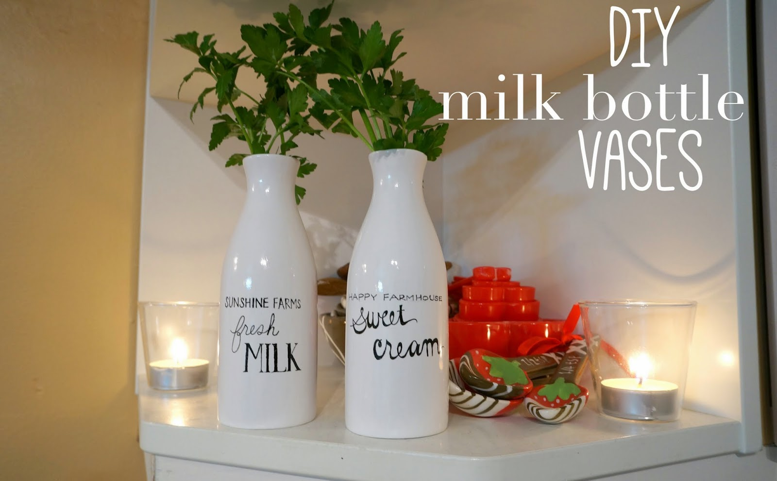 Racheerachh travels diy milk bottle vases reviewsmspy