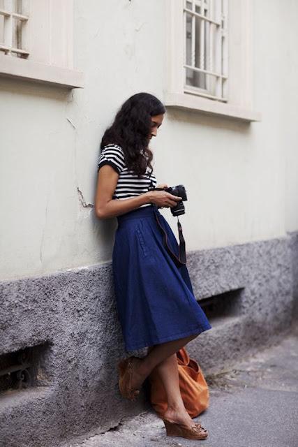 Saia Jeans e sua renovação - inspirações para usar e abusar
