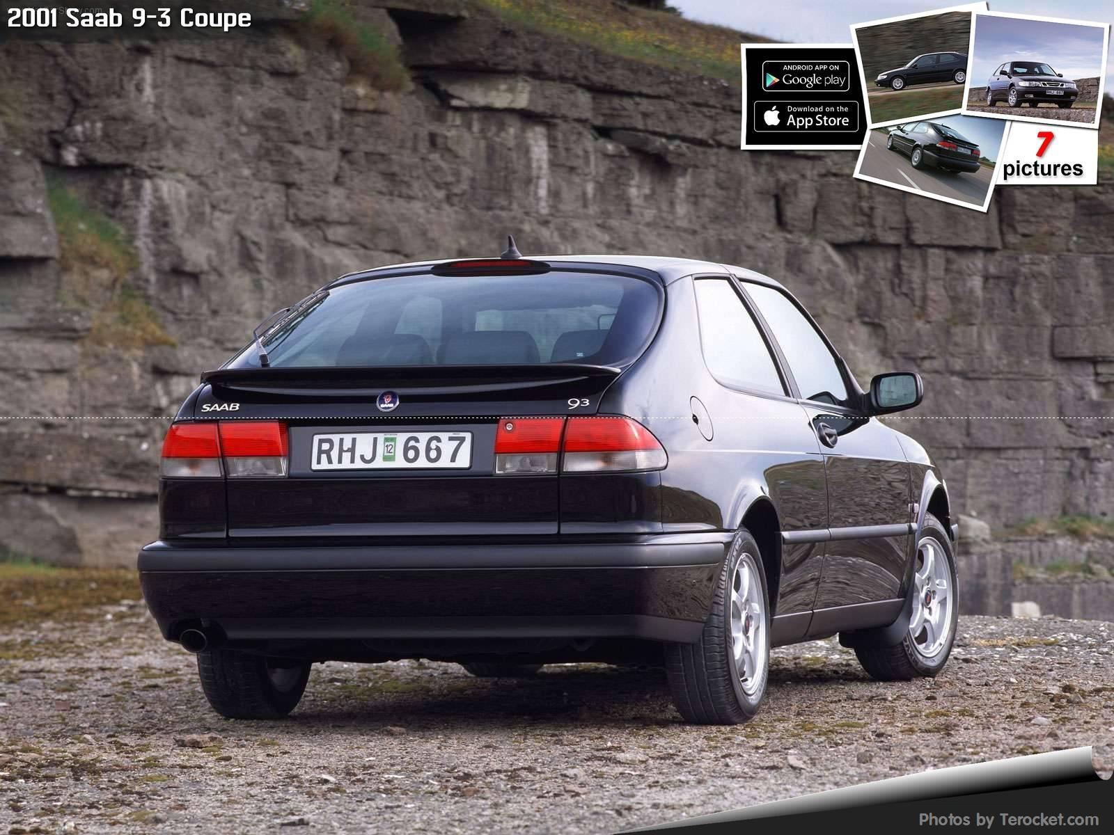 Hình ảnh xe ô tô Saab 9-3 Coupe 2001 & nội ngoại thất