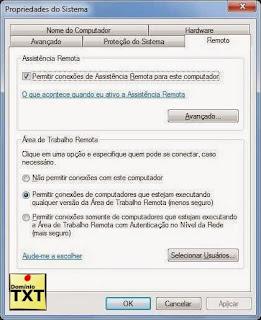 DominioTXT - Propriedades Remoto