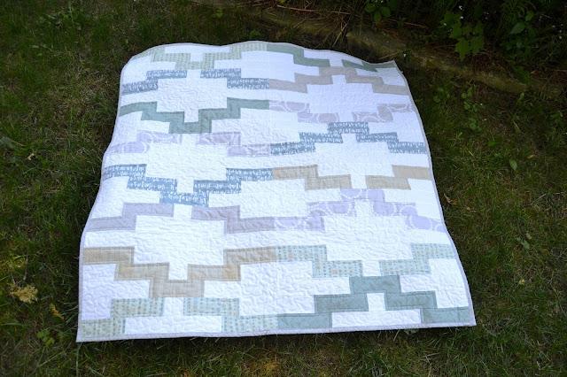 Interlock Baby Quilt by Twelve Bees