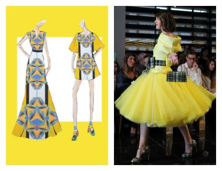 colores primavera verano 2016 pantone moda mujer amarillo buttercup