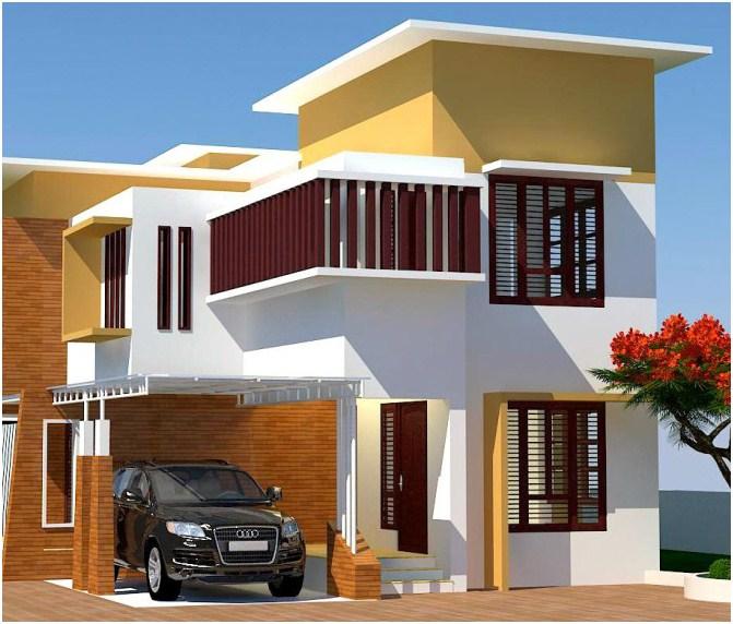 5 gambar rumah minimalis modern 2 lantai terbaru contoh