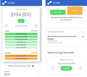 Cross Platform App of the Month - WeVest Financial Planning