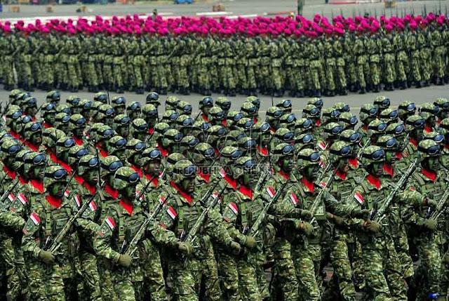 Poto-Poto Gladi Bersih Peringatan HUT TNI ke-67