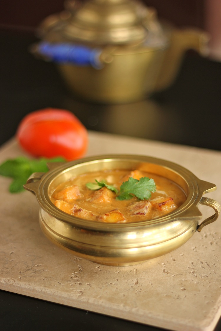paneer butter masala /paneer in a spiced tomato cream curry