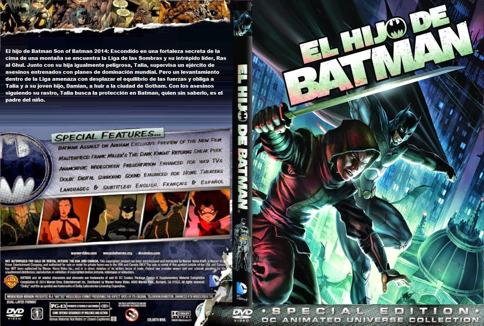 El Hijo De Batman DVD