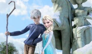 Gambar Elsa dan Jack Forst wallpaper 13