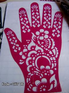 gambar cetakan henna