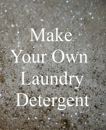 Making Home Made Laundry Detergent