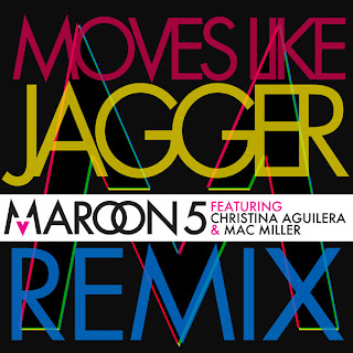 Maroon 5 - Moves Like Jagger Remix (feat. Mac Miller & Christina Aguilera) Lyrics