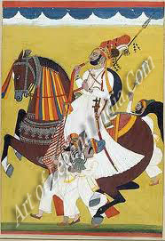 Indian Rajput Painting