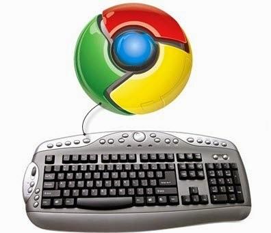 Chrome klavye kısayolları