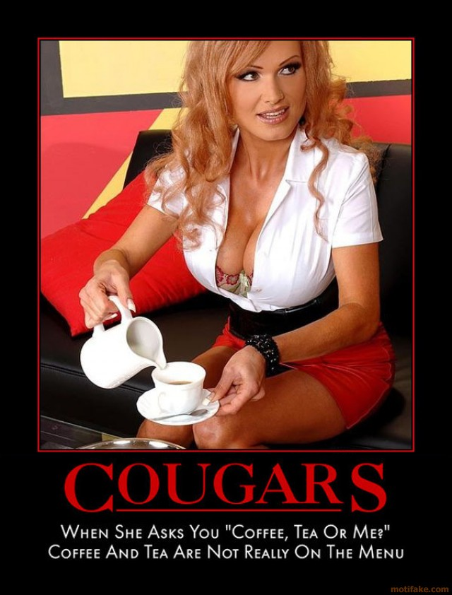 cougar woman