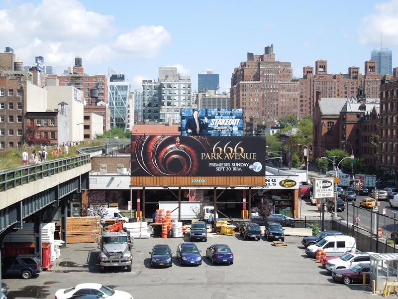 666 Park Avenue billboard NYC