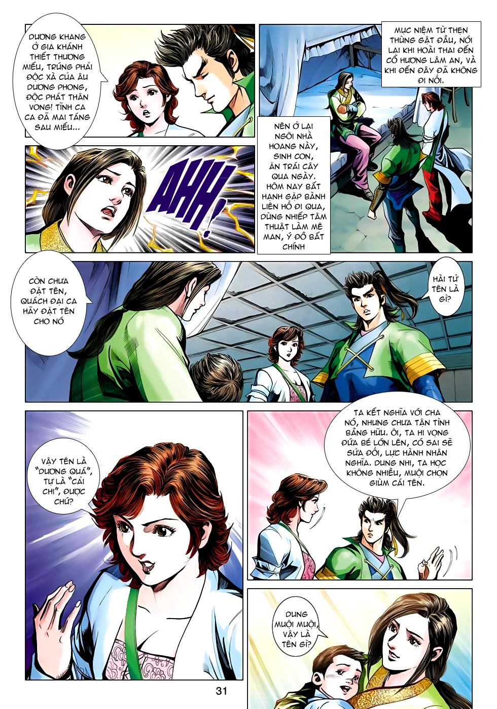 Xạ Điêu Anh Hùng Truyện chap 100 – End Trang 31 - Mangak.info