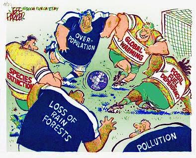 Increasing environmental issues