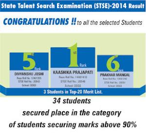 STSE result 2014