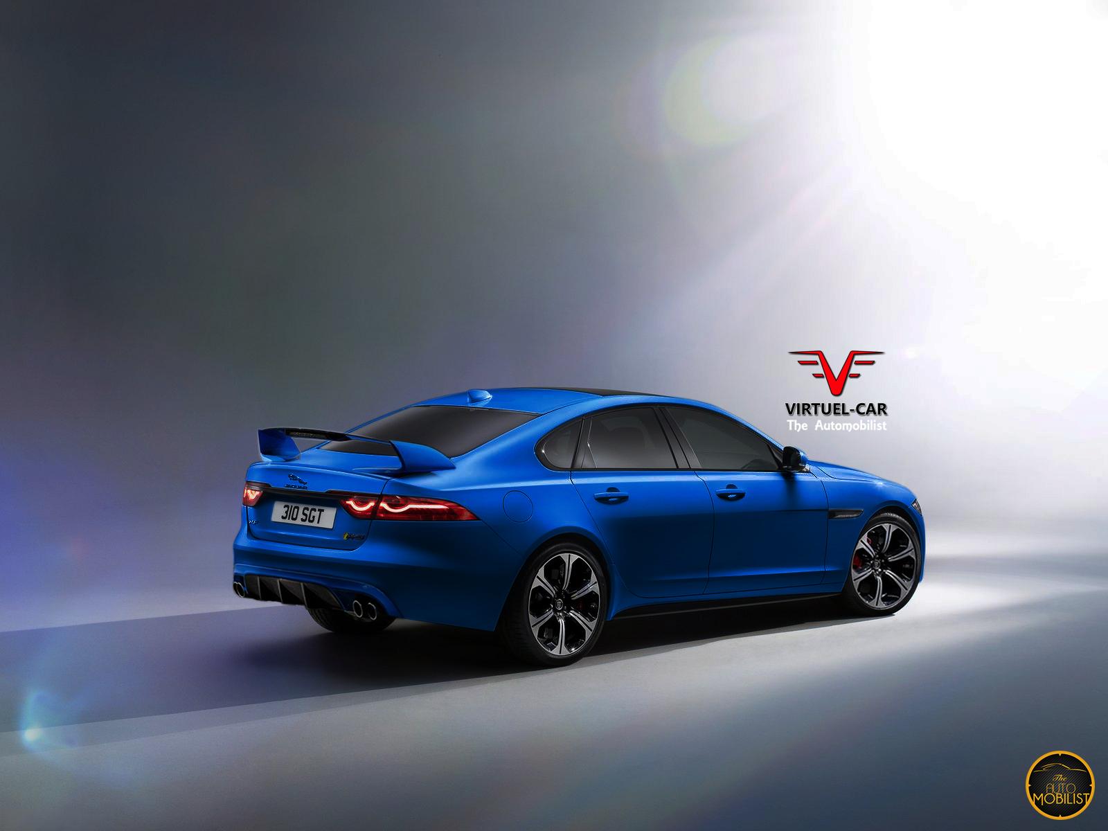 2017 Jaguar XFR-S Render Looks Spot On...Unsurprisingly | Carscoops