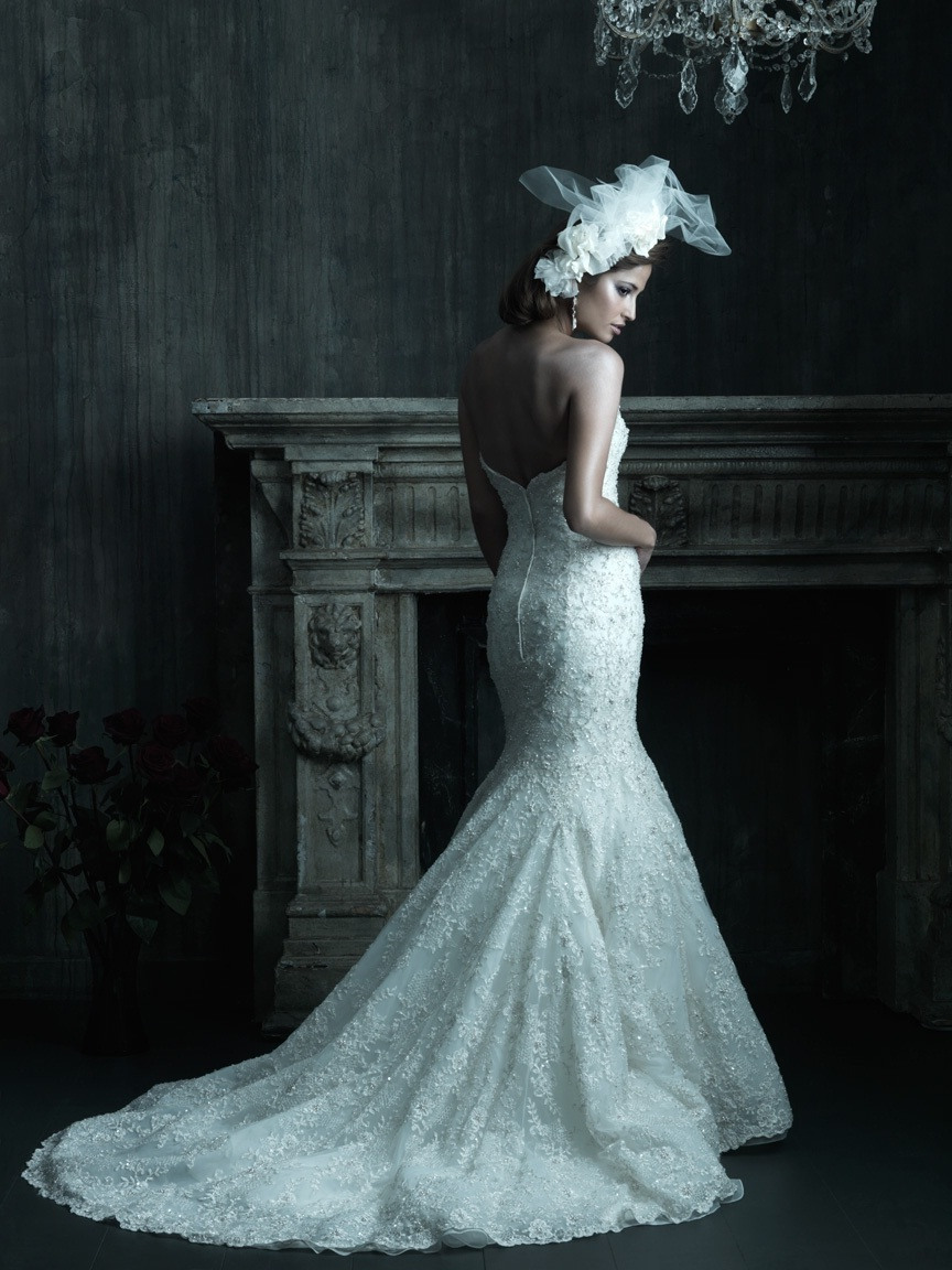 Allure couture 2013 bridal wedding dresses for Cheap couture wedding dresses