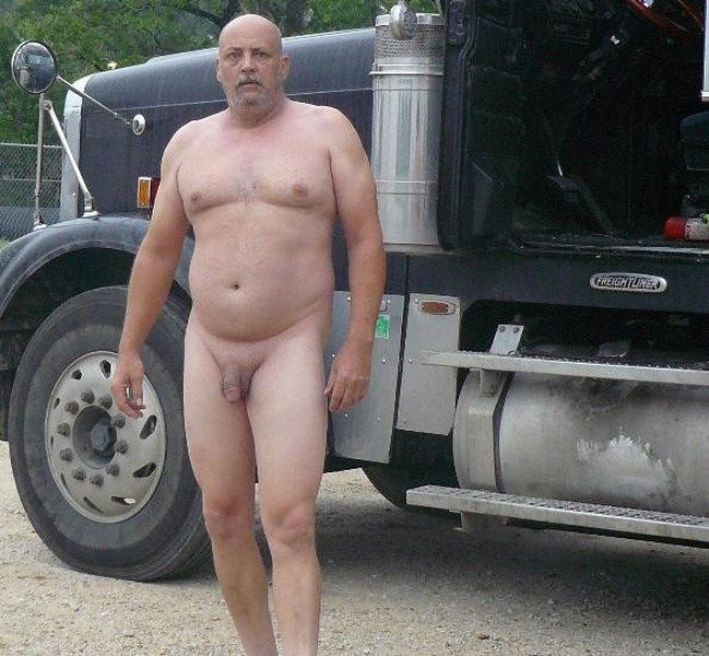 Gay sex with truck driver