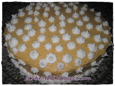 bal kabağı püresi ile pasta