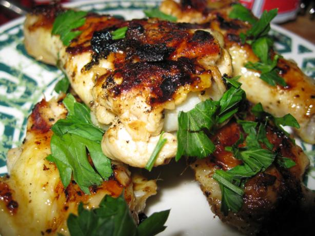 Jawaneh grilled chicken wings with lemon and garlic for Arabesque lebanon cuisine