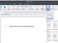 Cara Menambahkan Nomor Halaman di Word dan Writer