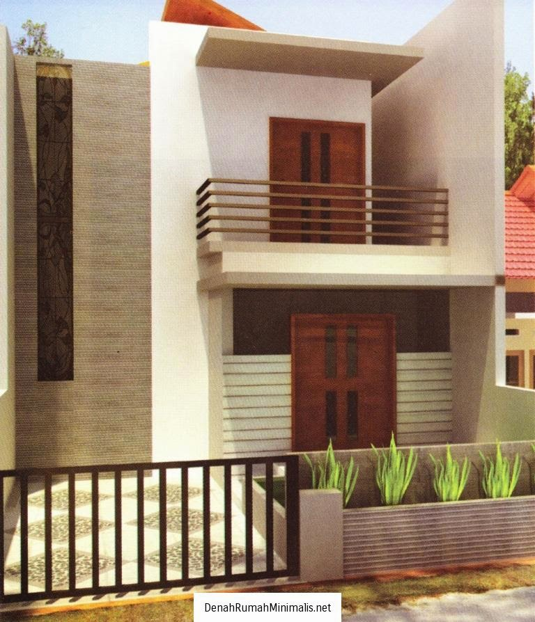 Desain Rumah Minimalis 2 Lantai Luas Tanah 100M2