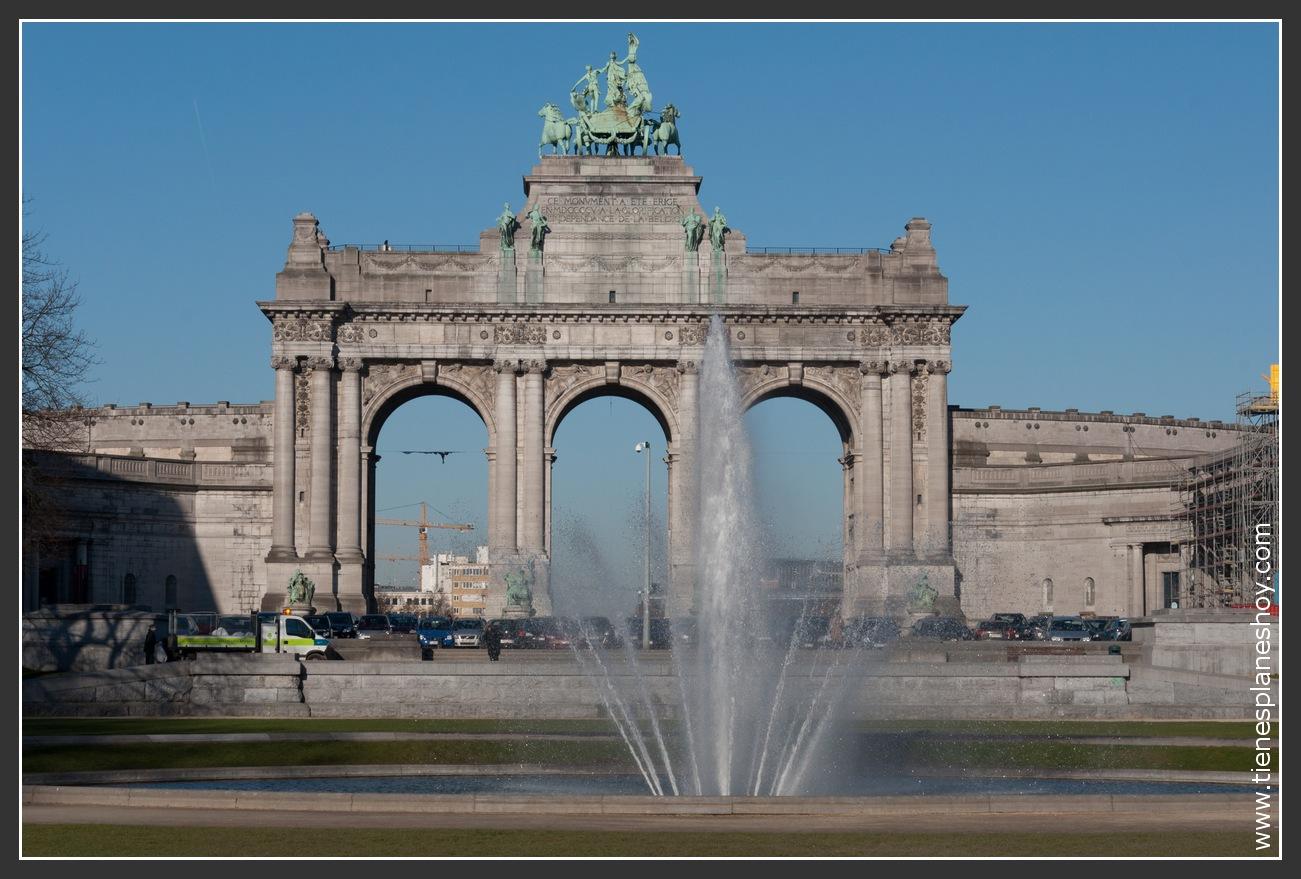 Parque del Cincuentenario Bruselas