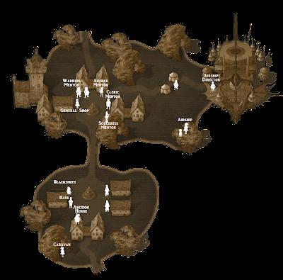 [Tutorial] แผนที่เมืองต่างๆ และ NPC ประจำเมือง CadillacMap