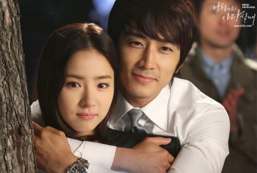 When a man loves korean drama kisses
