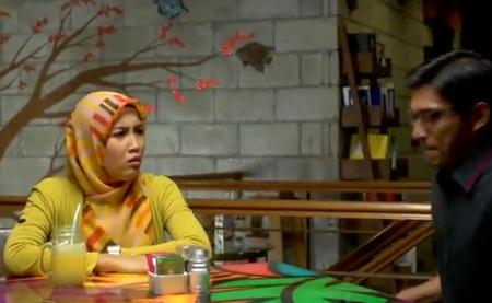 Gambar Izreen Azminda cantik bertudung labuh dalam Drama Sehangat ...