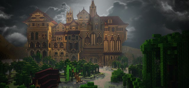 untitled Minecraft herobrines mansion download
