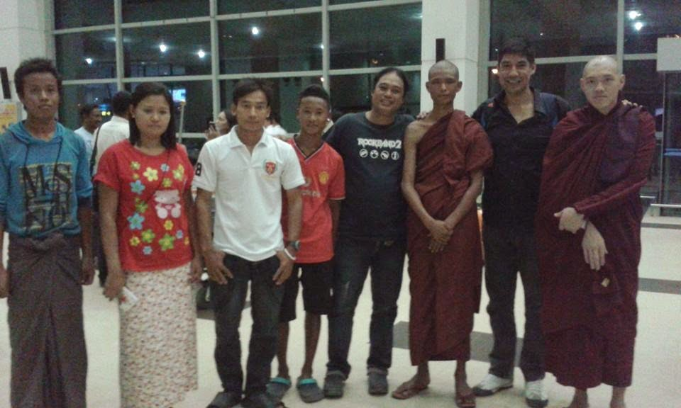 thabarwa Yangon  Rangoon kamma karma  kindness compassion lovingkindness sympatheticjoy  ambulance engagedbuddhism conciousness awareness metta sick patients disables