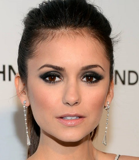 Nina Dobrev Valentine Day make up