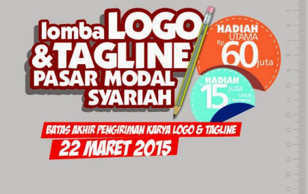 Lomba Logo dan tagline Pasar Modal Syariah