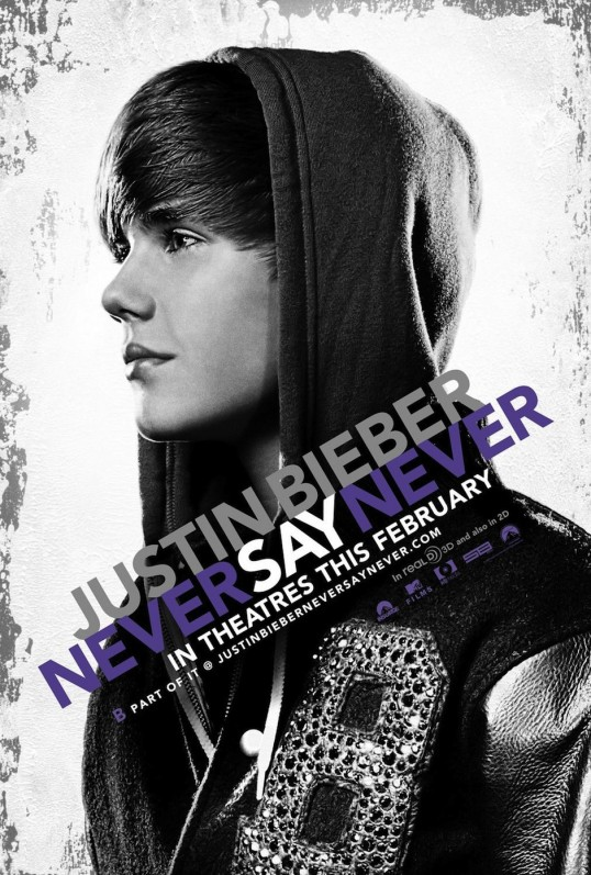 justin bieber black and white poster. tattoo justin bieber never say