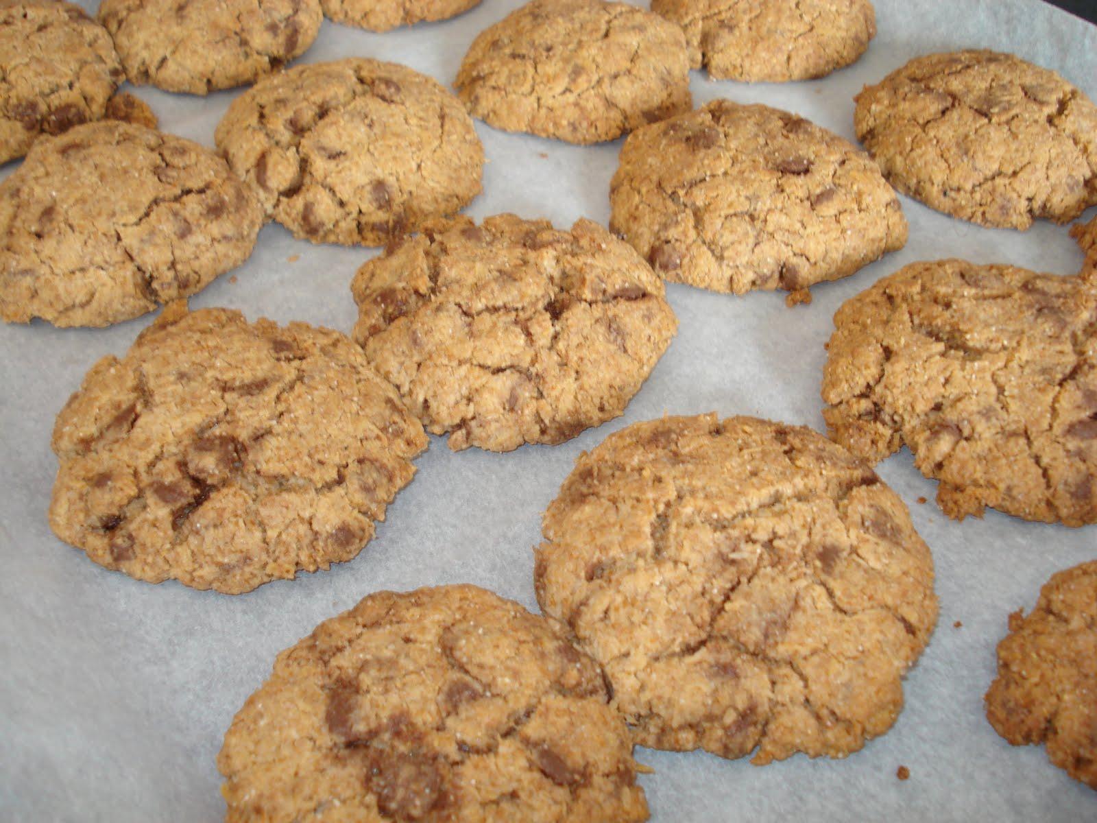 Evy Cakes: Cookies XXL con chips de chocolate